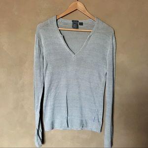 Armani Exchange linen sweater